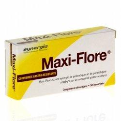 Synergia Maxi-flore Prébiotiques et Probiotiques 30 comprimés