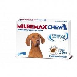 Milbemax Chew Vermifuge Spectre Large 2 comprimés à croquer