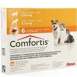 Comfortis Chiens & Chats 425mg 6 comprimés