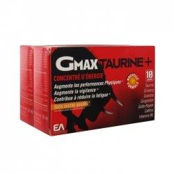 EA Pharma Duo Pack Gmax Taurine+ Concentré d'Energie 30 ampoules de 2ml