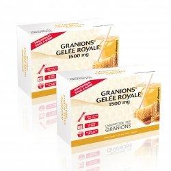 Granions Duo Pack Gelée Royale 1500mg 15 sticks