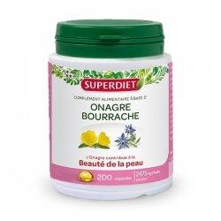 Superdiet Huiles Onagre et Bourrache 200 capsules