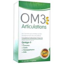 OM3 Articulations 15 capsules + 15 gélules