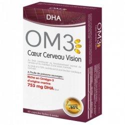 OM3 Coeur Cerveau Vision 60 capsules