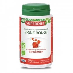 Superdiet Vigne Rouge Bio Circulation 90 gélules