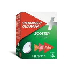 Nutrisanté Vitamine C + Guarana Booster 24 comprimés