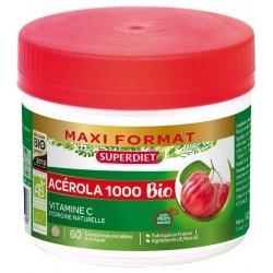 Superdiet Acérola 1000 Bio 60 comprimés
