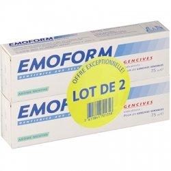 Emoform Dentifrice Gencives Sensibles Menthe Lot de 2 x 75ml
