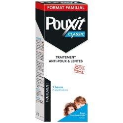 Pouxit Classic Lotion Traitement Anti-Poux & Lentes Format Familial 250ml