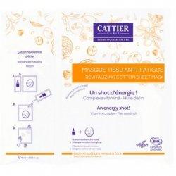 Cattier Masque Tissu Anti-Fatigue 15ml