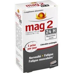 Cooper Mag2 24H Magnésium Marin 45 comprimés