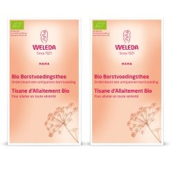 Weleda Duopack Tisane Allaitement Bio 20 Sachets x2