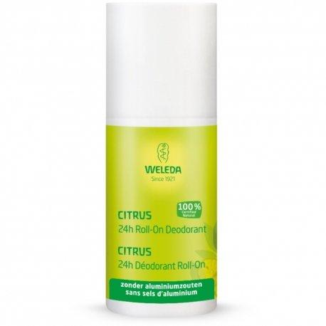 Weleda deodorant citrus 24h roll-on 50ml