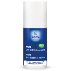 Weleda deodorant homme 24h roll-on 50ml