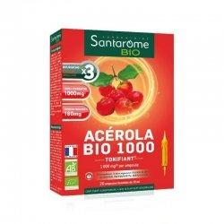 Santarome Bio Acérola Bio 1000 - 20 ampoules de 10ml