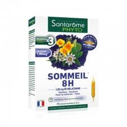 Santarome Bio Sommeil 8H 20 ampoules de 10ml