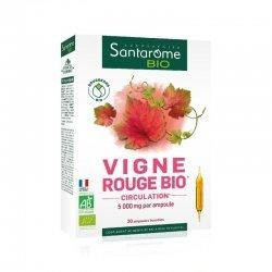 Santarome Bio Vigne Rouge Bio 20 ampoules de 10ml