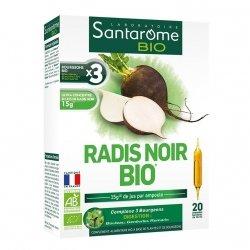 Santarome Radis Noir Bio 20 ampoules