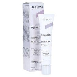 Noreva Alpha Km Crème soin Anti-rides Correcteur Peaux Normales à Mixtes 40ml