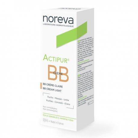 Noreva Actipur BB Crème Anti-Imperfections Teintée Claire 30ml