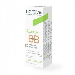 Noreva Actipur BB Crème Anti-Imperfections Teintée Dorée 30ml