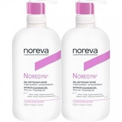 Noreva Noregyn Gel Nettoyant Intime Duo 2 x 500ml