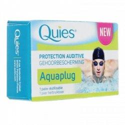 Quies Aquaplug Protection Auditive 1 paire réutilisable