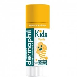 Dermophil Kids Protection Lèvres Vanille 4g