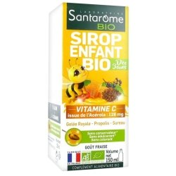Santarome Sirop Enfant Bio Vitamine C 150ml
