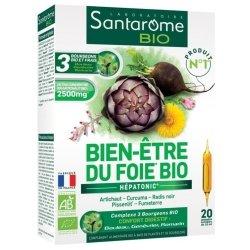 Santarome Bio Bien-Etre du Foie 20 ampoules de 10ml