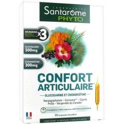 Santarome Phyto Confort Articulaire 20 ampoules de 10ml