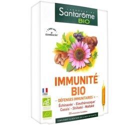Santarome Bio Immunité Bio 20 ampoules de 10ml