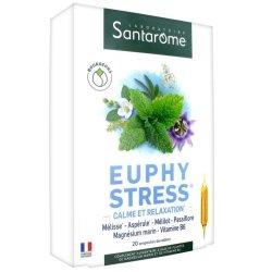 Santarome Bio Euphystress 20 ampoules de 10ml