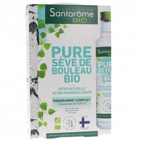 Santarome Bio Pure Sève de Bouleau Bio Coffret 3 bouteilles 500ml