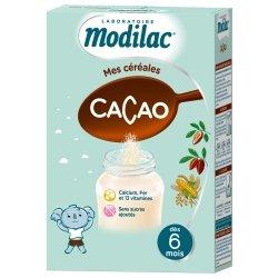 Modilac Mes Céréales Cacao 300g