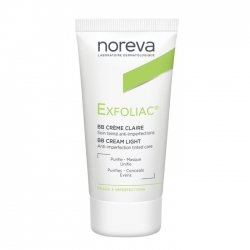 Noreva Exfoliac Soin Anti-Imperfections Teinté Clair 30ml
