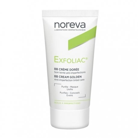 Noreva Exfoliac Soin Anti-Imperfections Doré 30ml