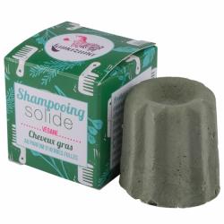 Lamazuna Shampooing Solide Cheveux Gras au Parfum d\'Herbes Folles 55g