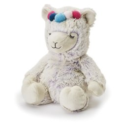 Soframar Warmies Cozy Peluches Déhoussables Bouillotte Lama