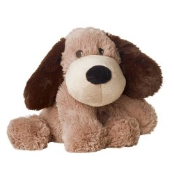 Soframar Warmies Cozy Peluches Bouillotte Chien Marron