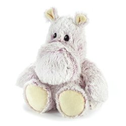 Soframar Warmies Cozy Peluches Déhoussables Bouillotte Hippo