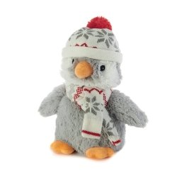 Soframar Warmies Joyeux Hiver Bouillotte Pingouin