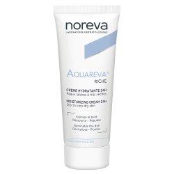Noreva Aquareva Crème Hydratante Riche 24H 40ml