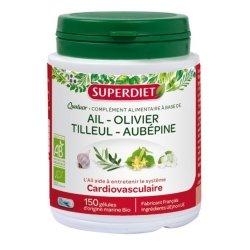 Superdiet Quatuor Ail Cardiovasculaire Bio 150 gélules