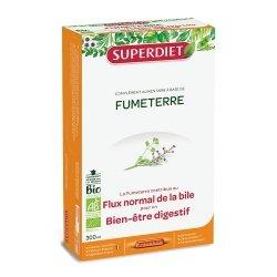 Superdiet Fumeterre Bio 20 ampoules de 15ml