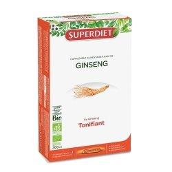 Superdiet Ginseng Bio 20 ampoules de 15ml