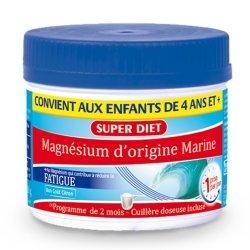 Superdiet Magnésium Marin Poudre 230g + 1 cuillère doseuse