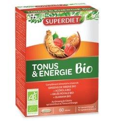 Superdiet Tonus & Energie Bio 60 gélules