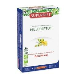 Superdiet Millepertuis Bio 20 ampoules de 15ml