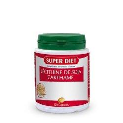 Superdiet Lécithine de Soja Carthame 120 Capsules